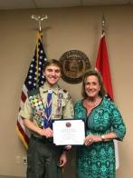 Congresswoman Personally Congratulates Missouri's 2019 Eagle Scout of the Year