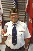 World War II vet receives recognition from French 70 years after service