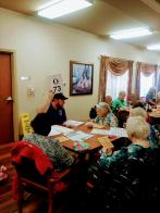 Royse City Post Volunteers at Local Assisted Living Facility