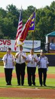 First All Female Veteran Color Guard