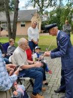 Celebrating WWII Army Air Corps veteran Gene DeMar's 98th birthday