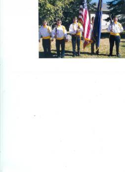 Holy Redeemer flag duty