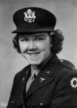 Lt. Ora Mae Sorensen Hyatt in service to her country