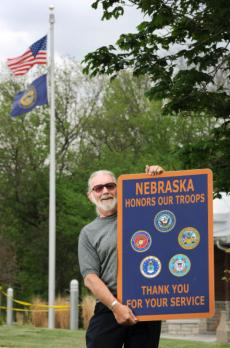 Nebraska gets new rest area signs honoring Veterans