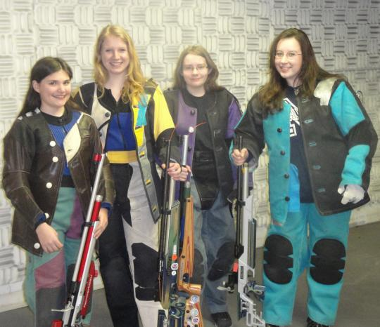 Colorado Shooting Competitions: GREEN ADVANCES IN JR SHOOTING SPORTS COMPETITION