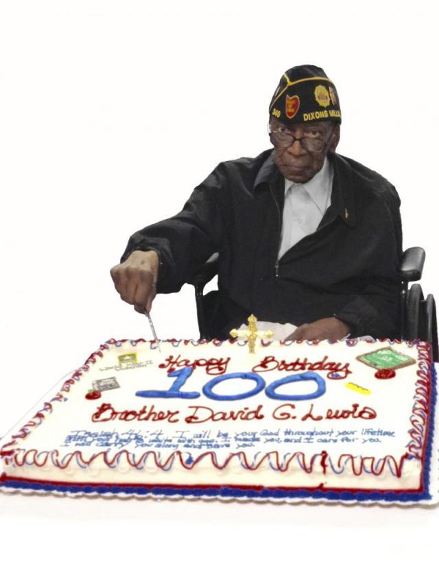 Alabama Legionnaire Celebrates 100th Birthday Legiontown Usa