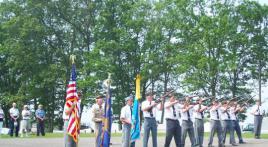 Gravesites on Memorial Day