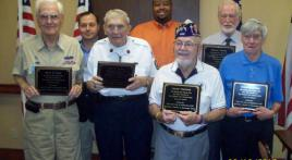 WWII Veterans Honored