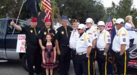 AMERICAN LEGION POST 284 PARTICIPATES IN BELLEVIEW'S ANNUAL CHRISTMAS PARADE