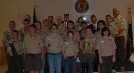 100th Anniversary Celebration with Boy Scouts