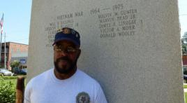 Men who keep us safe: Veteran Ronald Alexander Jefferson
