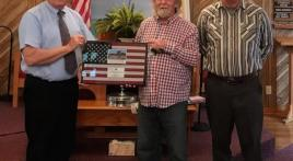 Big things happening in small-town communities: (Dover, Tenn.) Field of Honor presentation