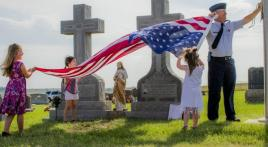 Passing down traditions, pride and honor