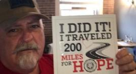 200 miles completed, still walking
