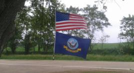 My U.S. Flag: Showing pride from Illinois