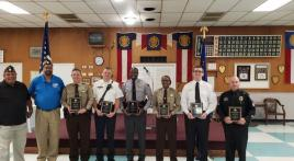 Henry K. Burtner Post 53 recognizes local heroes