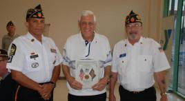 50 Year Pin Awarded