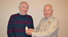 Post 178 veteran achieves milestone