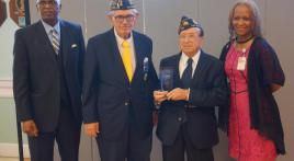 Van Nuys Post 193 receives award from local VA