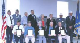 Veterans honored at American Legion awards ceremony