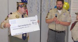 Cub Scouts donate to Royal Oak Post 253