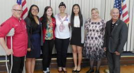 Post 555 Auxiliary sponsors three students for Girls State