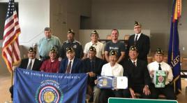 American Legion Post 603 installs 2017-2018 officers