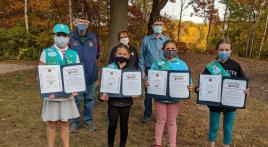 Daniel R. Olsen Legion Family provides recognition and flag education