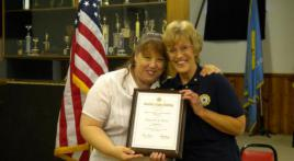 American Legion Auxiliary Unit 14 Member Earns National Award