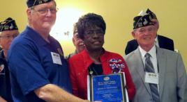 Post 19 member wins Department-Level Blue Cap Award