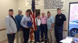 Post 19 Blue Cap recipients recognized