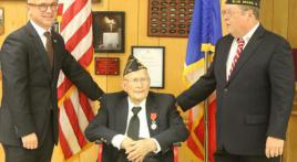 Legionnaire awarded French Legion d'Honneur
