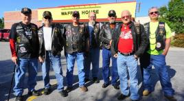 100 Miles for Hope ride to E. Roy Stone Jr. Veterans Home