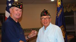 Chaplain George Schmidt is Virginia Post 110's Legionnaire of the Year