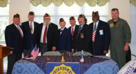 Veterans Day Observed at OLPH Senior Care Center
