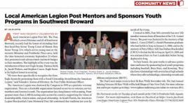 Post 385, FL Eagle Scout Award Presentation