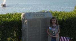 HISTORIC FT ADAMS (RI) FLAGGED