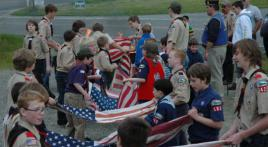 Flag Day Retirement Ceremony