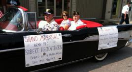 Past Post 154 commander is parade grand marshal