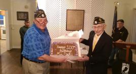 Legion member reaches 100th birthday