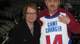 Frank Roche honored by Detroit Pistons Basketball Association