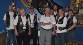 Winona ALR Present donation to Freedom Honor Flight