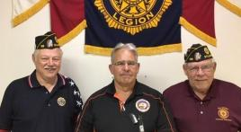 Legion hears about impressive Oklahoma State University veterans