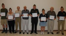 Local Veterans Receive Certificate of Appreciation
