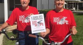 100 miles - done that! (Post/Unit 390, Mid Florida Lakes, Leesburg, Fla.)