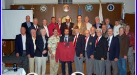 Medal of Honor Recipient, Army Specialist Salvatore Giunta speaks at Newport Harbor Post 291