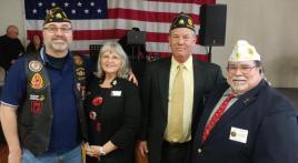 "American Legion Karl Ross Post 16 (Stockton, Calif.) ""meet-n-greet"" event"