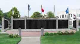 Woburn's new war memorial
