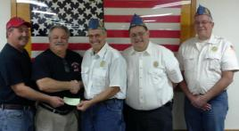 Ohio squadron raises $10,458 for OCW