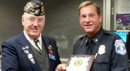American Legion Post 449 honors police department